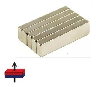 1 Iman Neodimio 40mm X 10mm X 5mm Super Potente N52 Xto Barr