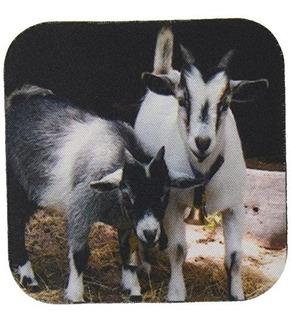 3drose Llc Enano Cabras De Cabra Suave Conjunto De 4