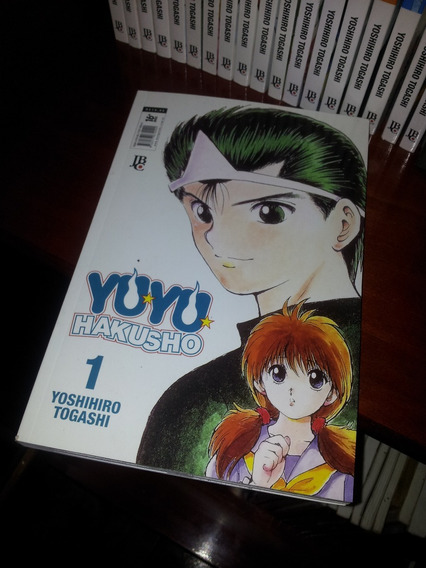 Mangá Yu Yu Hakusho - Edição Completa