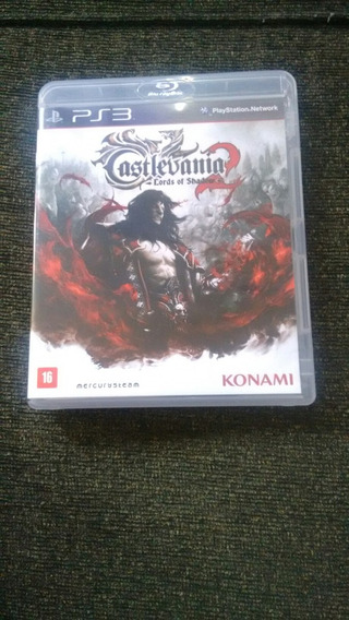 Castlevania Lords Of Shadow Semi Novo Mídia Física Ps3 Origi