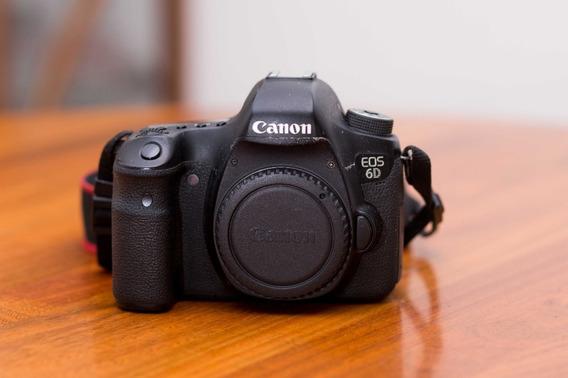 Canon 6d Body - Wg Con Wifi -