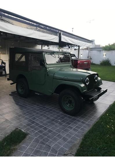 Jeep Ika Corto 4x2 Permuto Solo Por Moto