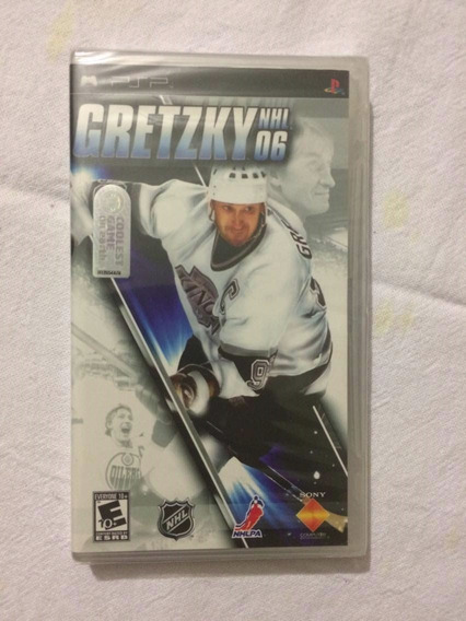 Gretzky Nhl 06 Novo Lacrado Original Psp**