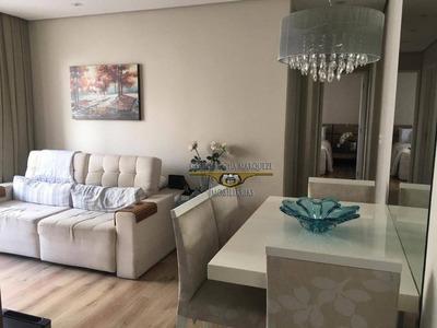 Apartamento Com 2 Dormitórios À Venda, 52 M² Por R$ 295.000 - Tatuapé - São Paulo/sp - Ap2083