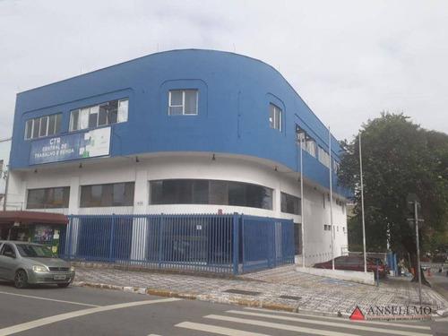 Imagem 1 de 13 de Prédio Para Alugar, 1727 M² Por R$ 35.000,00/mês - Centro - São Bernardo Do Campo/sp - Pr0159