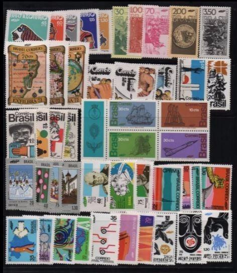 1972 A 73+ 75 + 78/79 05 Anos Completos Selos Comemorativos