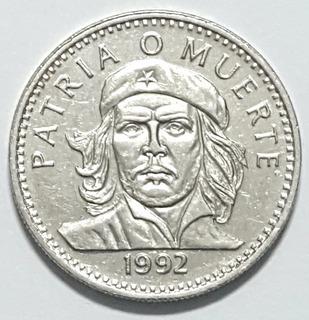 Moneda. Ernesto Che Guevara. (1992) 3pesos Cubanos.