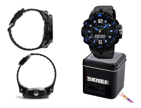Relogio Skmei 50m Alarme Cronometr Importa Japão Diametro 55