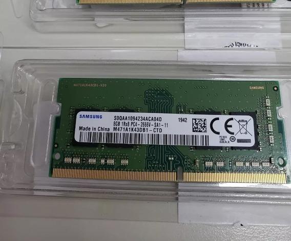 Memória Ram Notebook Ddr4 2666 8 Gb Samsung
