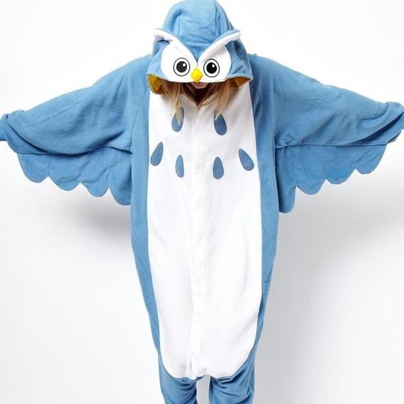 Pijama Mameluco Disfraz Polar Búho Unisex Calidad