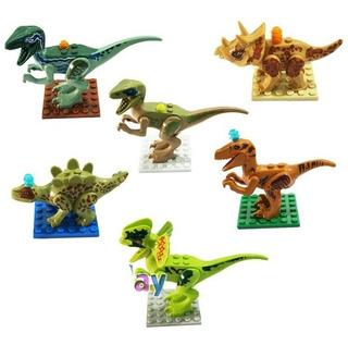 Set De 6 Dinosaurios Compatibles Con Lego