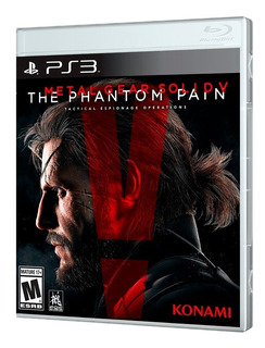 Juego Ps3 Metal Gear Solid V The Phantom Pain Ps3
