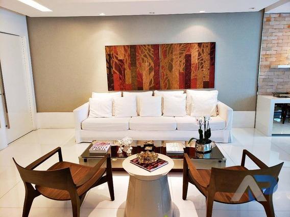 Apartamento Com 4 Dormitórios À Venda, 152 M² Por R$ 1.490.000 - Horto Florestal - Salvador/ba - Ap0327