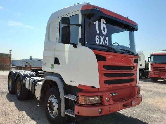 Scania G 440 6x4 2016/2016 Bug Pesado 380648km