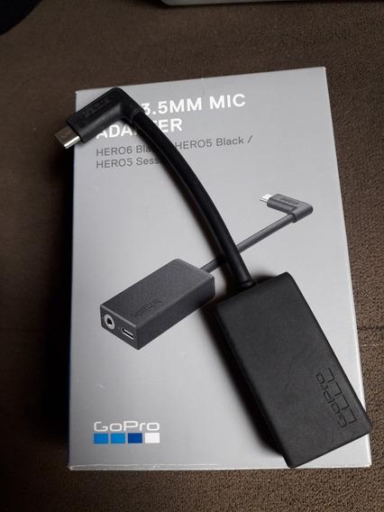 Adaptador De Microfone Para Gopro 5,6,7,8 Pro 3.5mm Adapter