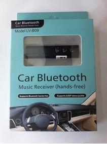Receptor Bluetooth Lv-b09 P2 Receiver Hands Free Mic