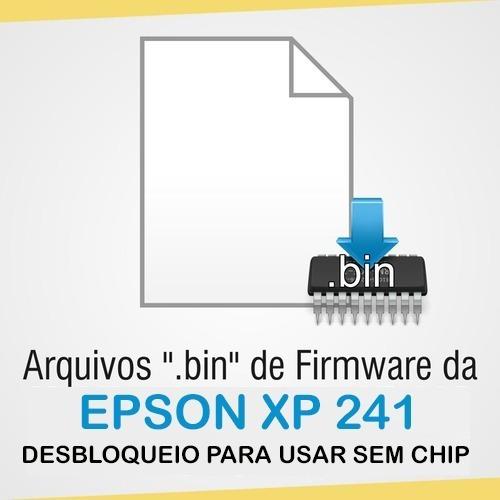 Arquivo De Desbloqueio Da Epson Xp 241 Para Usar Bulk Ink