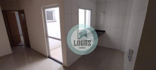 Imagem 1 de 18 de Apartamento Com 2 Dormitórios À Venda, 45 M² Por R$ 297.000,00 - Vila Pires - Santo André/sp - Ap1799