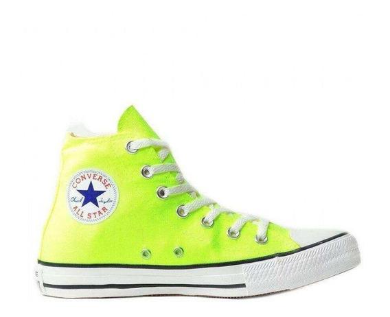 Tenis Converse All Star Ct Core Hi Bota Verde Neon