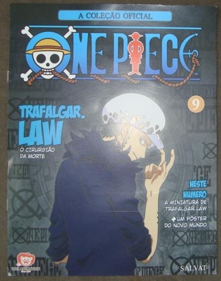 One Piece A Coleção Oficial N.9- Trafalgar. Law - Com Poster