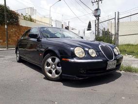 Jaguar S Type 2002 Piel Quemacocos Madera Automatico