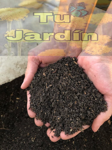 Bolsa De Tierra Negra Abonada Tierra Fertil Materia Organica