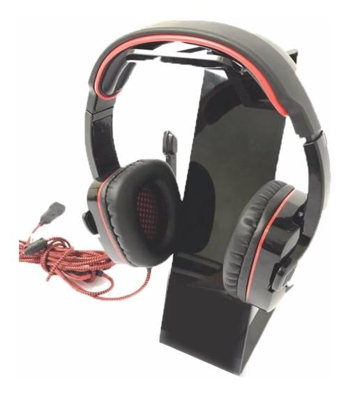Suporte Para Fone De Ouvido Headset Headphone Mesa Acrílico
