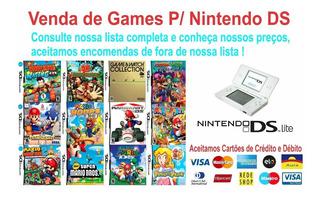 20 Patchs De Jogos A Sua Escolha De Nintendo Ds