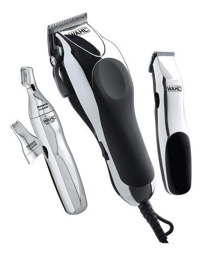 Maquina De Recortar Wahl Clipper Home Barber Kit 30 Piezas