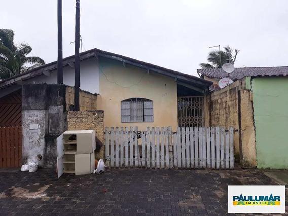 Casa Com 2 Dorms, Balneário Jussara, Mongaguá - R$ 110 Mil, Cod: 828898 - V828898