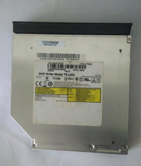 Gravador De Dvd Ts-l633/tmcf Ver:a Notebook Usado! Barato!