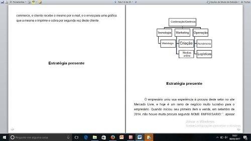 Trabalho/ Consultoria/ Diagnostico Empresa E-commerce Pronto