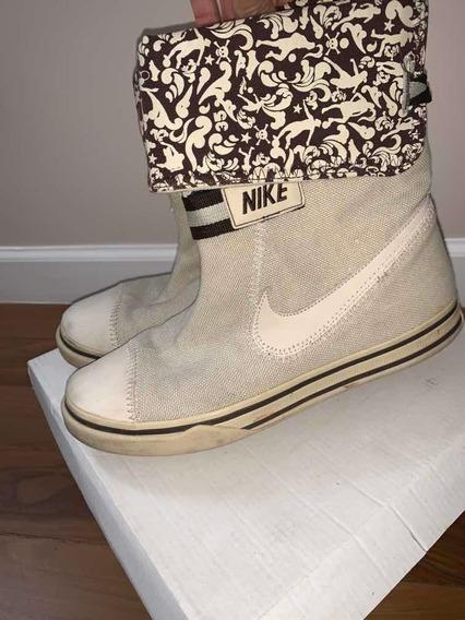 Zapatilla Bota Cruda De Mujer Talle 9us 40.5 Nike