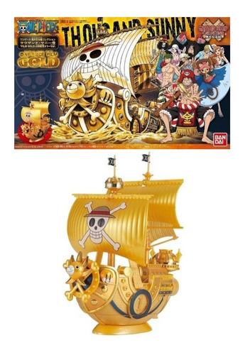 Imagen 1 de 3 de Thousand Sunny (gold) Grand Ship Collection One Piece Bandai
