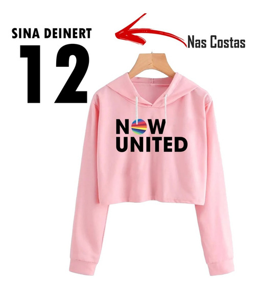 Blusinha Cropped Now United Sina Deinert 12 Musica Dance Pop