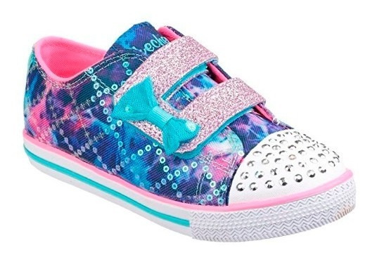 Skechers Childrens Girls Twinkle Toes Chit 10% Off