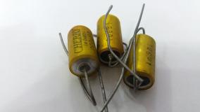 3 Capacitores A Òleo Cherry - 002 Ufd 600v