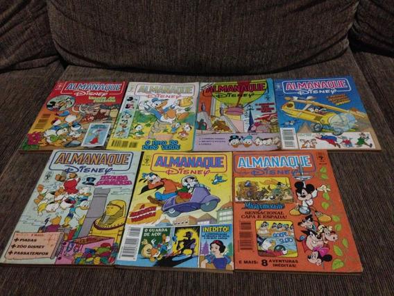 Lote 7 Gibis Almanaque Disney Abril Anos 90