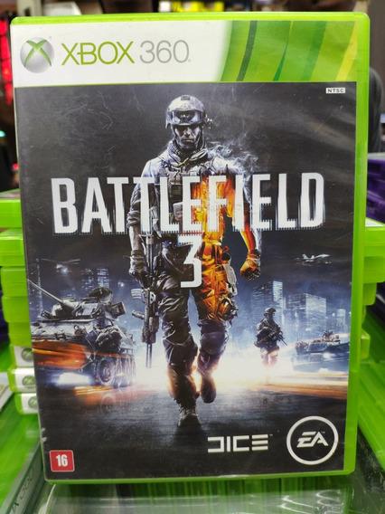Jogo Battlefield 3 Xbox 360, Mídia Física Usado