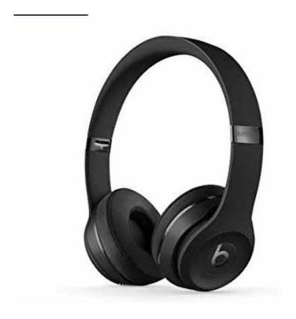 Fone De Ouvido Beats Solo 3 Original Wireless Preto Matte
