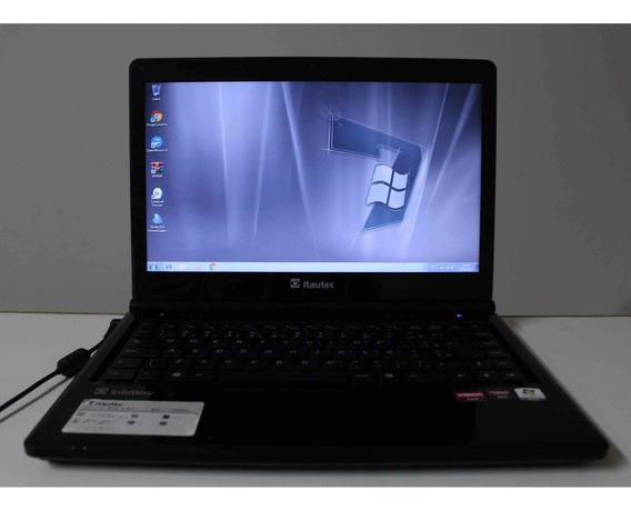 Notebook Itautec Infoway A7520 Amd C-60 14 4gb Hd-250gb