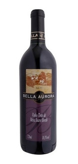 Vinho Tinto Suave Bordô 720ml - Bella Aurora