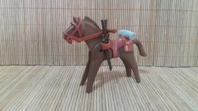 Lote 5113 - Cavalo Marrom Escuro - Montarias Do Velho Oeste