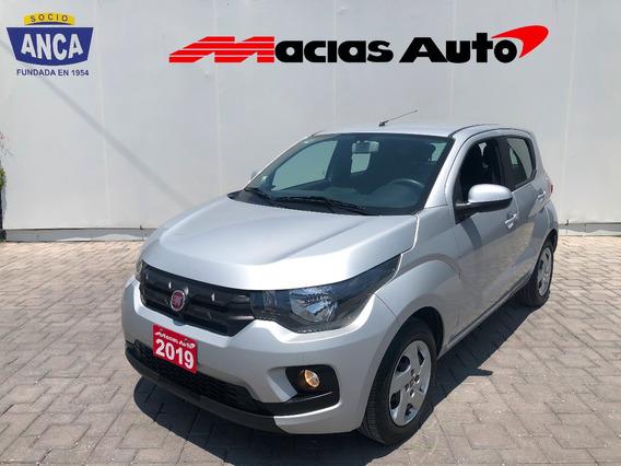 Fiat Mobi Like 1.0l Tm5 2019 Credito Recibo Auto Financiamie