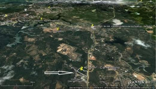 Terreno Para Venda Em Camaçari, Via Parafuso - Din7686_2-321428