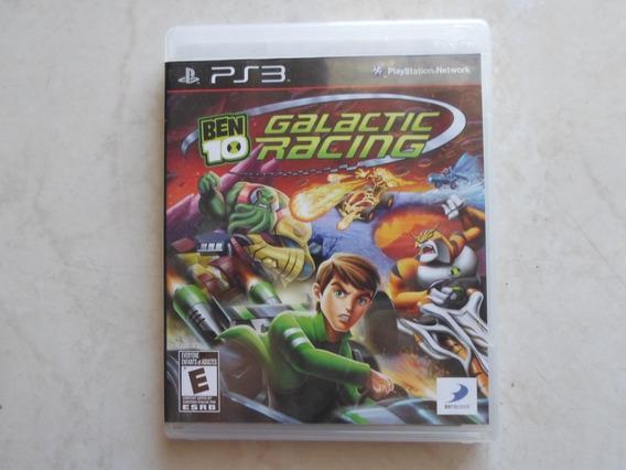 Ben 10 Galactic Racing Ps3 Mídia Física Original