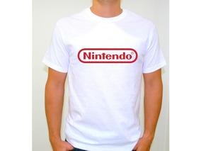 Camiseta Estampada Nintendo