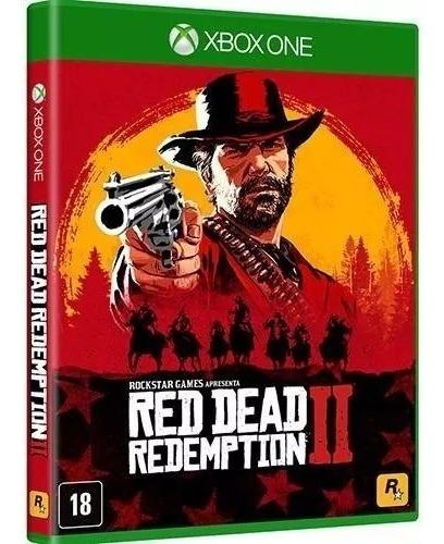 Red Dead Redemption 2 Xbox One Mídia Física Português