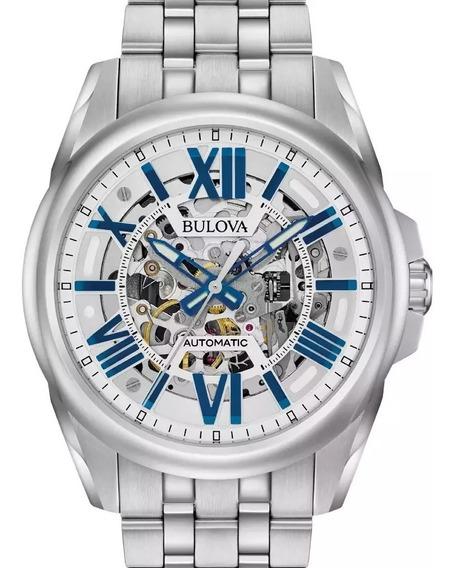 Relógio Masculino Bulova Automático Esqueleto 96a187