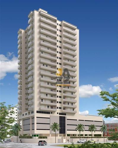 Imagem 1 de 15 de Apartamento Com 3 Dormitórios À Venda, 88 M² Por R$ 451.024,00 - Ocian - Praia Grande/sp - Ap7081